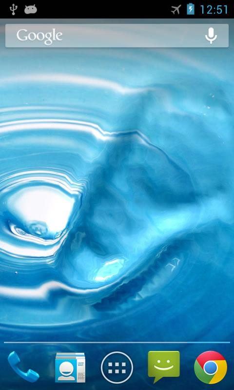 Water live wallpaper- screenshot