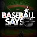 Baseball Says Pro logo