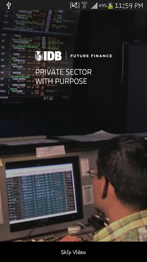 IDB - Private Sector- screenshot