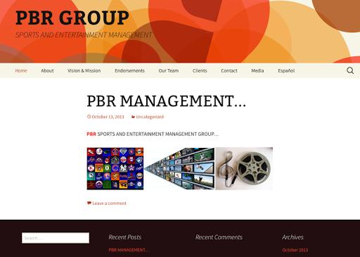 PBR Management