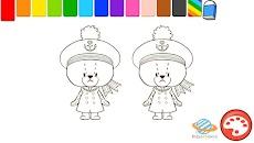 子供向け無料知育アプリ「がんばれ!ルルロロのぬりえ絵本」のおすすめ画像2
