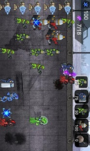 Humans vs Aliens- screenshot thumbnail