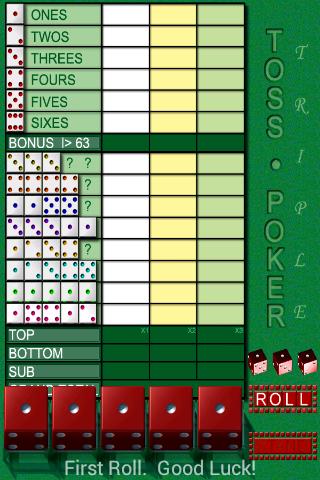 Toss Poker