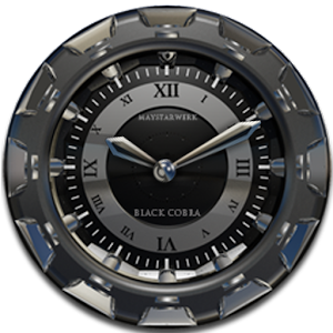 App Clock Widget Black Cobra APK