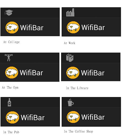 WifiBar - Wifi Status bar Icon