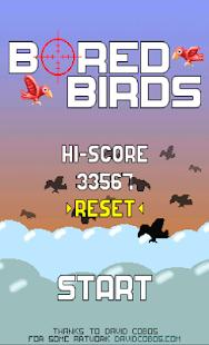 Bored Birds - epic shooter - screenshot thumbnail