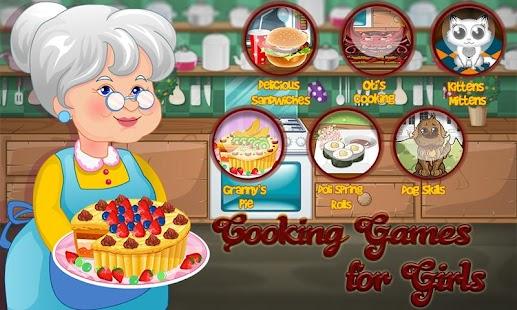 烹飪遊戲的女孩
