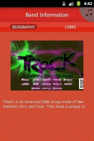 TRaCK - screenshot