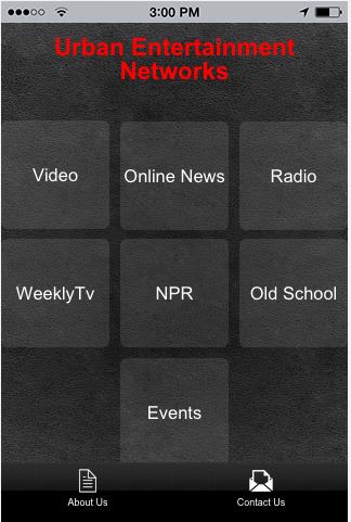 Urban Entertainment Networks