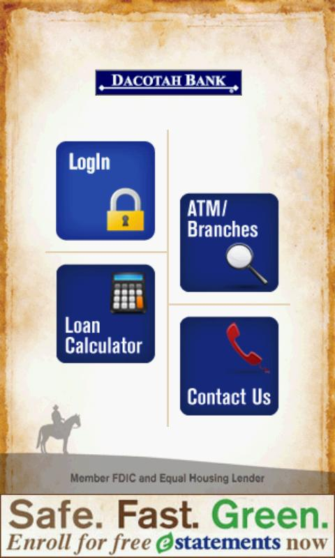Dacotah Bank - screenshot
