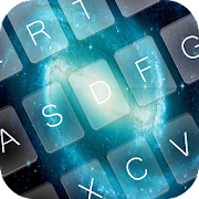 Galaxy Light Keyboard Theme