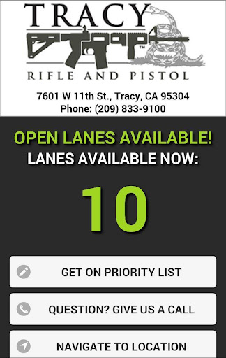 Tracy Rifle Pistol Range