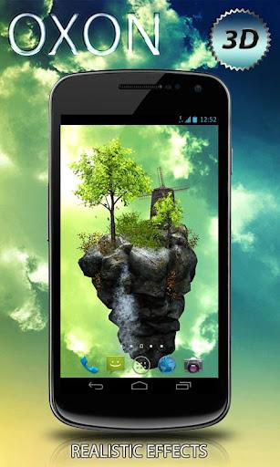【免費個人化App】FlyIsland Pro 3D LWP-APP點子