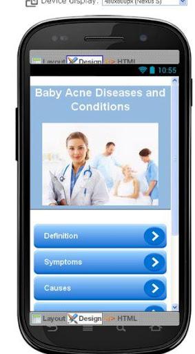 Baby Acne Disease Symptoms