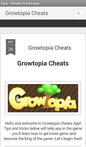 Epic Cheats Growtopia