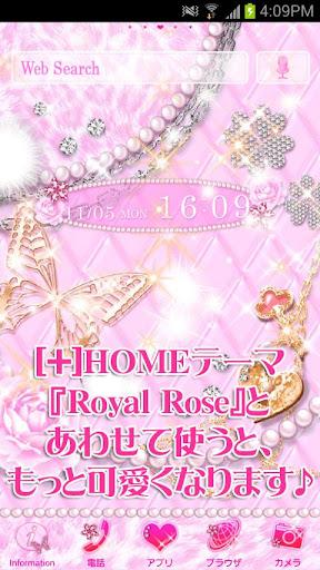 無料个人化AppのRoyal Rose for[+]ライブ壁紙|HotApp4Game