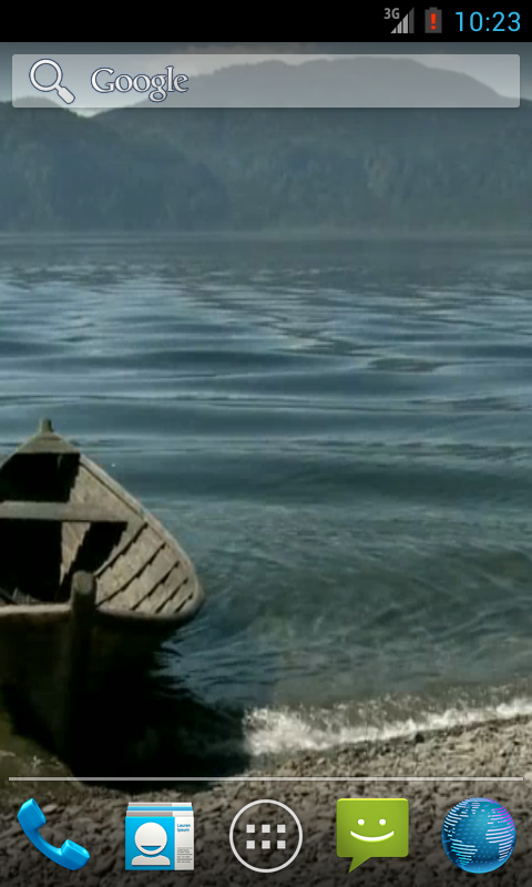 Boat On The Lake HD - screenshot