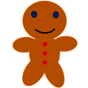 Christmas Gingerbread Man 2016 icon