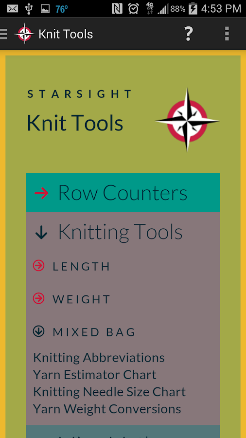 Knitting Row Counter App Android : Knit tools android apps on google play