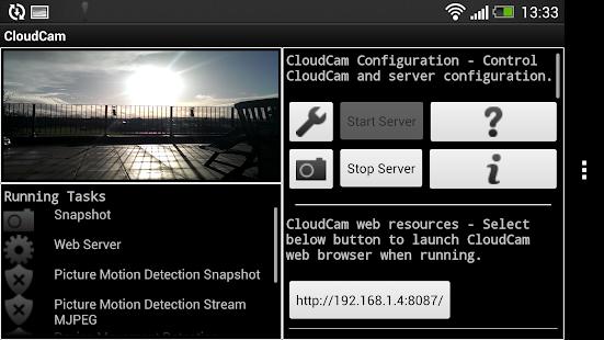 Cloud Spy Cam