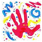 Kid Finger Painting