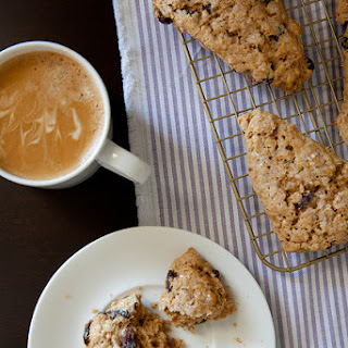 Oatmeal Raisin Scones.