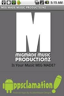 MIG MADE MUSIC PRODUCTIONZ- screenshot thumbnail