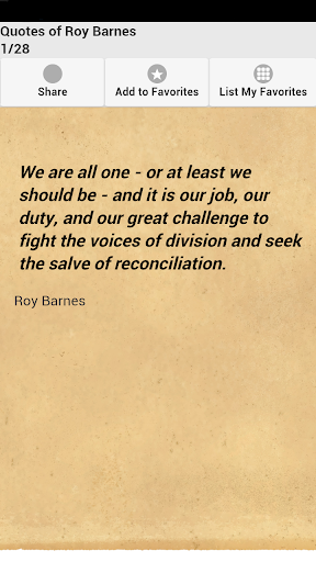 Quotes of Roy Barnes