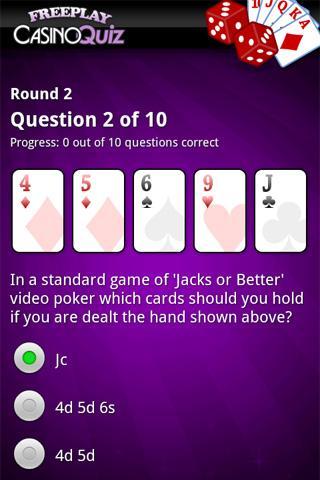 FreePlay Casino Quiz - screenshot