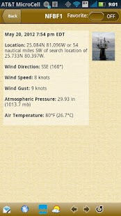 NOAA Buoy and Tide Data - screenshot thumbnail