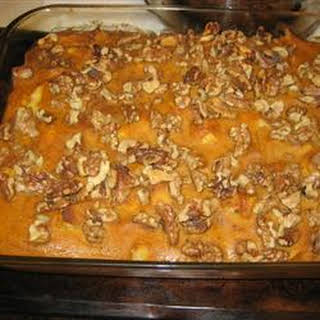 Pumpkin Breakfast Casserole.