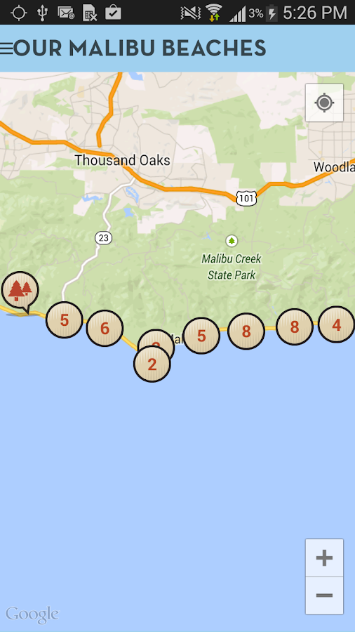 Our Malibu Beaches- screenshot
