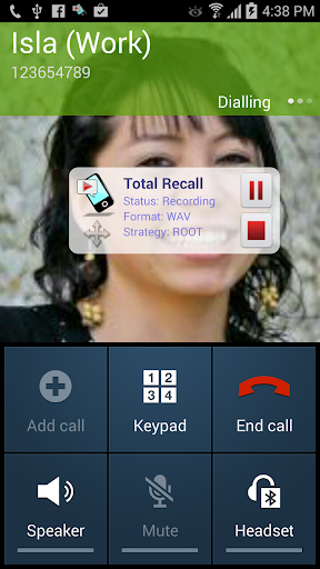 Call Recorder Galaxy S9 | Total Recall v2.0.71 [Unlocked]