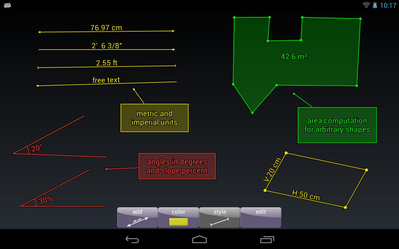imagemeter messen im foto android apps auf google play. Black Bedroom Furniture Sets. Home Design Ideas