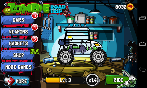 Zombie Road Trip (Mod Money)