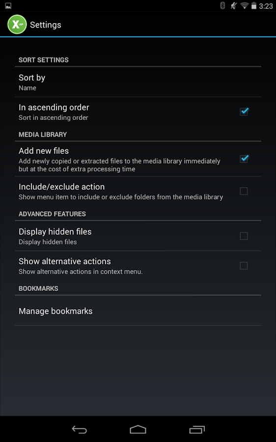 XZip - zip unzip unrar utility- screenshot
