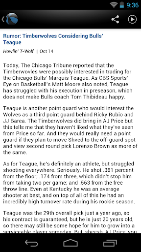 Minnesota Basketball News 4.1.0 screenshots 2