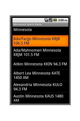 Minnesota Sports Radio