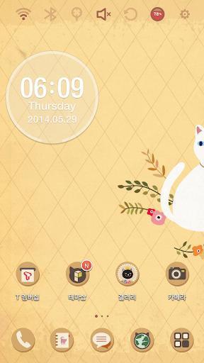 Minolog Lovely Kitty3 런처플래닛 테마