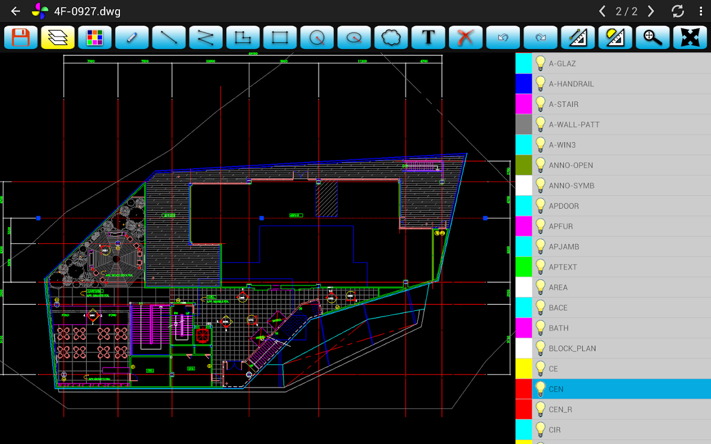SimonView - DWG Viewer- screenshot