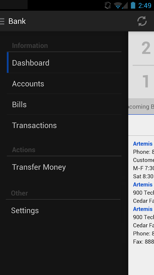 FNB Allendale Mobile - screenshot
