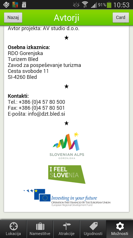 Slovenian Alps Travel Guide - screenshot