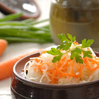 Raw Sauerkraut (Fermented Cabbage) Recipe
