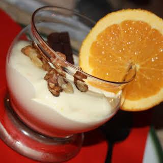 Orange Cream Dessert.