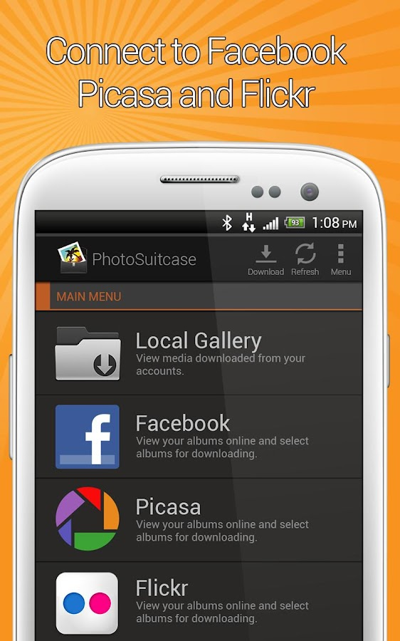 PhotoSuitcase - screenshot