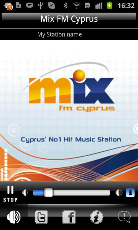 Mix FM Cyprus- screenshot