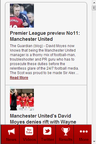 Man Utd News - screenshot