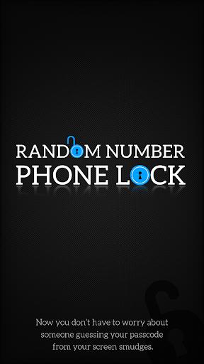 Random Number Phone Lock
