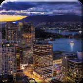 Canada Night Live Wallpaper HD
