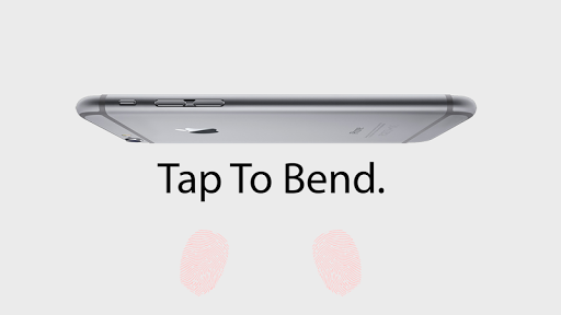 Bend the iPhone